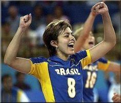 Leila Barros Brazil volleyball