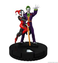 The Joker and Harley Quinn #006 LE DC Heroclix No Man's Land