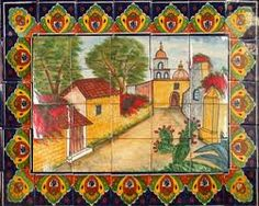 mexican tile | kitchen backsplash, mexicans and tile murals