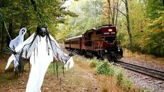 The Haunted Train runs on select dates from October 7 through Halloween with trains departing on those days at 7 p.m. and 8:30 p.m.
