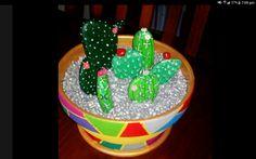 Rock cactus pot Rock Cactus, Cactus Pot, Terracotta, Cake, Desserts, Tailgate Desserts, Deserts, Kuchen, Postres