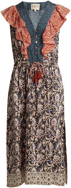 Sea - Maho silk dress