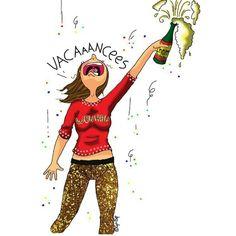 Un confetti sur Internet, et son mini elle , ses dessins valent le détour ! Image Fun, Positive Attitude, Illustrations, Drawing S, Cute Drawings, Funny Cute, Cute Art, Girly Things, Wonder Woman