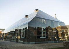 Schijndel : la ferme de verre, entre architecture traditionnelle et modernisme