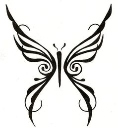 tribal butterfly - Google Search