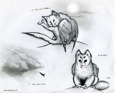 Owl Griffin Wash n Dry by RobtheDoodler.deviantart.com on @deviantART