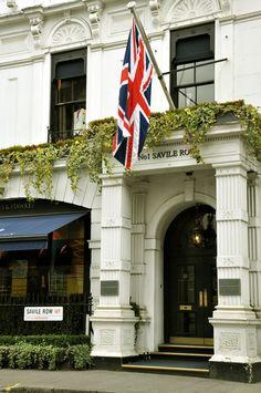 #SavileRow #Mayfair #London
