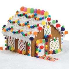 Gingerbread House, Dec 23