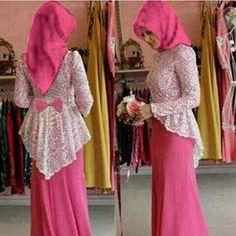 Maxi Lace Ribbon Pink