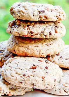 Ultimate Oatmeal Chocolate Chip Pecan Cookies - these cookies won't go to waste, they're loaded with chocolate chips and pecans and oatmeal.