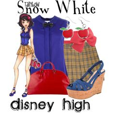 """Snow White"" by tallybow on Polyvore"