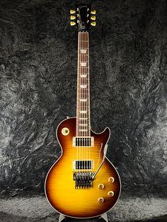 Gibson Custom Shop Alex Lifeson Les Paul Axcess Viceroy Brown