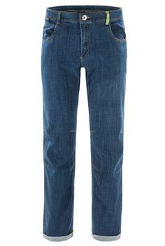 FERRINO - ZERO1 PANTS MAN, 48, denim Pantalone in Jeans elasticizzato bi-stretch. Slim fit gamba a sigaretta. Fondo da 20 cm con risvolto e etichetta a vista. Passanti in vita e profonde tasche frontali. Tasca posteriore a filetto preformata a V con fodera in contrasto. Ideale per ogni genere d'arrampicata purchè con stile. Consigliato per gli aperitivi di fine giornata. Tessuti 98% cotone - 2% elastan   https://nemb.ly/p/SJY6U5bfx Pubblicato in un lampo con Nembol