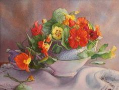 "Mary Kay Krell ""Garden Blooms"" - Southwest Gallery: Not Just Southwest Art."