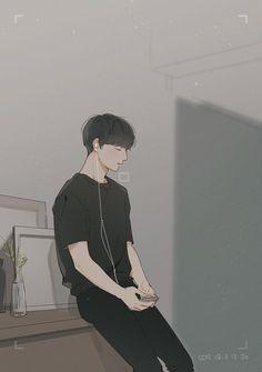 ✔ Cute Drawings Of Boys Character Design Jungkook Fanart, Bts Jungkook, Jungkook Smile, Art Anime, Anime Kunst, Anime Art Girl, Manga Girl, Anime Girls, Aesthetic Art