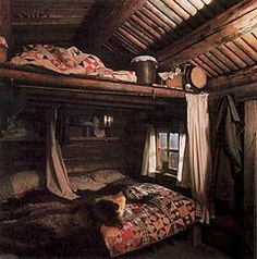Interior of Pioneer Log Cabin – Bing Images – Hazir Site Cabin Interiors, Office Interiors, Cabin Homes, Log Homes, Log Home Designs, Mountain Living, Stone Houses, Cozy Cottage, Cabins In The Woods