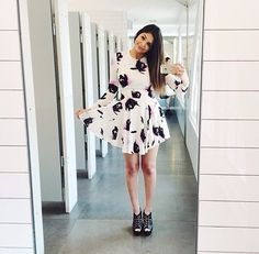 dress yesterday  taken in the ever so classy public bathroom  Bethany Mota ♡