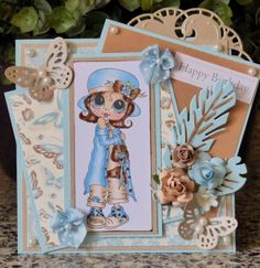 Anita en haar kaarten