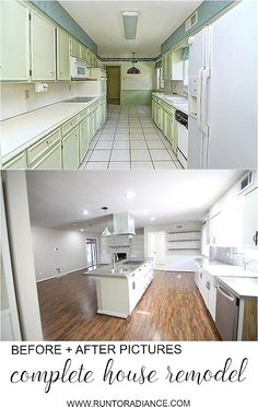 Home Remodeling Before And After FINAL flip house before and after - Before and After pictures- Insane final pictures of a flip house. Every room has been completely changed. Come and see all the before and after pictures. Home Renovation, Home Remodeling, Bedroom Remodeling, Kitchen Remodel Before And After, Small Rooms, Home Improvement Projects, Cheap Home Decor, Decoration, Designer