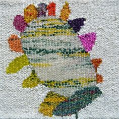 Plastic Flower woven from plastic bags - Plasticyarn