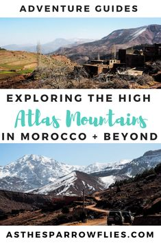 The Atlas Mountains   Atlas Mountains Day Trip   What to do in Morocco   Day Trips from Marrakech #traveltips #morocco