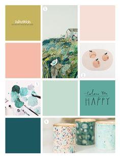 paperandcloth: Colour Me Happy