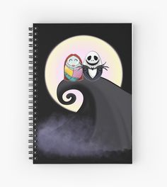 Nightmare before Christmas has been tiggled! Sally and jack in the moonlight. / Halloween, Christmas. • Also buy this artwork on stationery, apparel, stickers, and more.