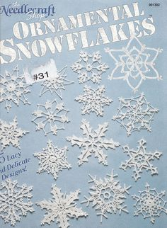 15 Snowflakes Crochet Patterns Christmas