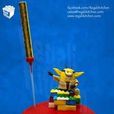Yoda Minion using the Force | Lego & Star Wars Minions Cake by The Regali Kitchen