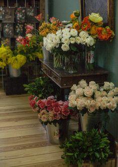 Flowers for Bouquet workshop by Berlin Flower School