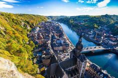 Belgium and river Meuse https://www.holidayfactors.com/belgium/