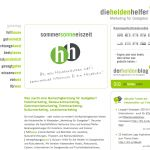 """Die Website der Marketingberatung """"Die Heldenhelfer"""" findet man unter http://www.die-heldenhelfer.de"""