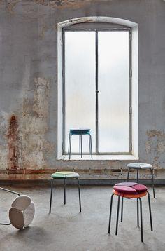 Patch stool, design: Mia Cullin, Axel Bjurström   Styling: Katrin Bååth   Photo: Sara Landstedt