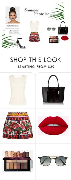 """""""Paradise"""" by aneishascotland on Polyvore featuring Oasis, Calvin Klein, Dolce&Gabbana, Ray-Ban and Yves Saint Laurent"""