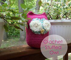 Tales of a Crafty Mommy: Crochet Stuffed Owl