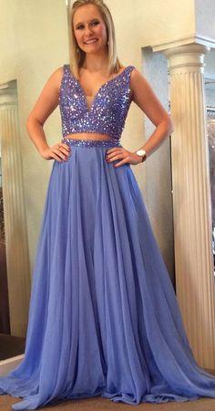 58aec62321c3 Custom Made Floor-length Prom Evening Dress Long Pink Dresses With ...
