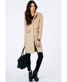 Tailored Boyfriend Coat October 2017