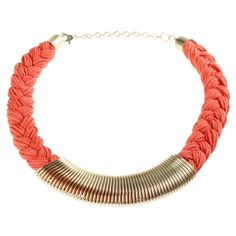 Spring Necklace Orange