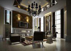 Cool Modern Living Room Interior Design