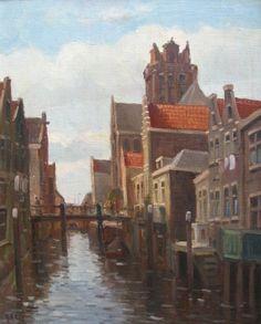 Voorstraatshaven  en Pelserbrug, Thomas van der Heck, 1919-2006