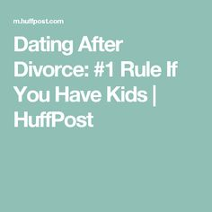 How long before dating after divorce