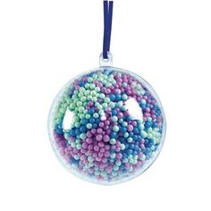 Colorations® Clear Ball Ornaments - Set of 12 Clear Ornaments, Ball Ornaments, Hanging Ornaments, School Supply Store, Discount School Supply, Valentine Day Crafts, Holiday Crafts, Valentines, Arts And Crafts Kits
