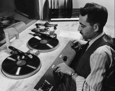 ...there was a disc-jockey