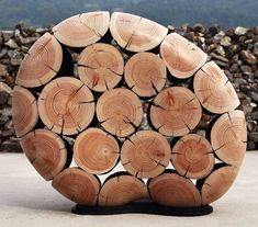 Elegant Wood Sculptures Crafted from Discarded Tree Trunks and Branches - My Modern Met