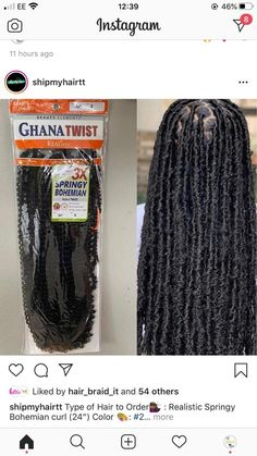Braids Hairstyles Pictures, Faux Locs Hairstyles, Protective Hairstyles For Natural Hair, Baddie Hairstyles, African Braids Hairstyles, Hair Pictures, Natural Hair Tips, Natural Hair Styles, Curly Hair Styles
