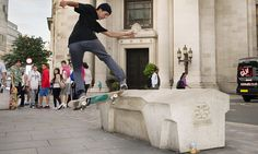 New urban design aims to influence behaviour and has been criticised as an attempt to exclude poor peopleAnti-skateboarding architecture – in pictures Urban Stories, Built Environment, Social Work, Urban Design, The Guardian, Landscape Design, Skateboarding, City, Camden