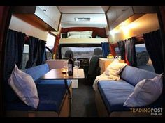 ford transit interior camper - Google Search