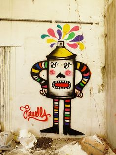Mister Angry Spray Can by Kruella D' Enfer