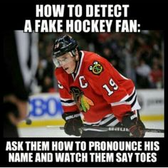 Hate the Blackhawks but he is so freaking good. Wish he was the Blues captain.
