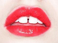 slyapartment   dailydose #teeth #red #lips #photography #gap